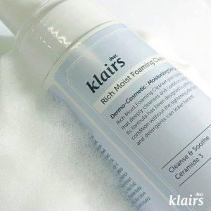 KLAIRS Rich Moist Foaming Cleanser