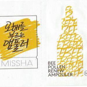 Missha Bee Pollen Renew Ampouler minta 1 db
