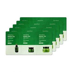 Innisfree Green Tea Night-Care Kit  5 db-os csomag