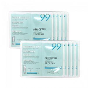 Missha Aqua Peptide Custom Skin Care 99 Cream minta 1 db