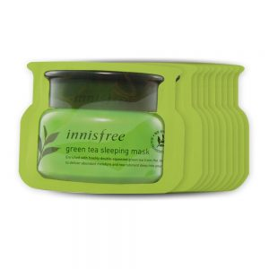 Innisfree Green Tea Sleeping Mask Minta 1 db