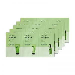 Innisfree Green Tea Cleansing Kit 5 db-os csomag