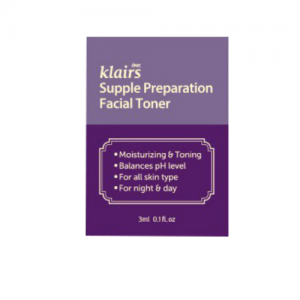 Klairs Supple Preparation Facial Toner minta