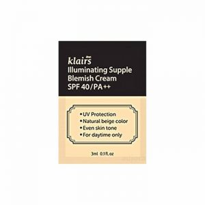 Klairs Illuminating Supple Blemish Cream  (SPF40 PA++) minta