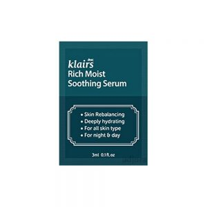 Klairs Rich Moist Soothing Serum minta