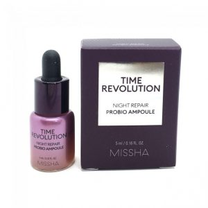 Missha Time Revolution Night Repair Probio Ampoule minta