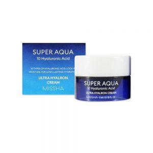 Missha Super Aqua Ultra Hyalron Cream minta