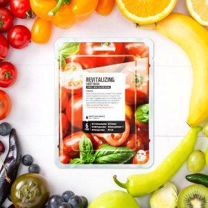 Superfood Revitalizáló maszklap – paradicsom