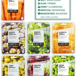 Farm Skin Superfood saláta arcmaszk – B csomag (répa)