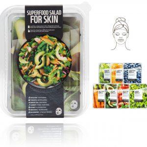 Farm Skin Superfood saláta arcmaszk – C csomag (avokádó)