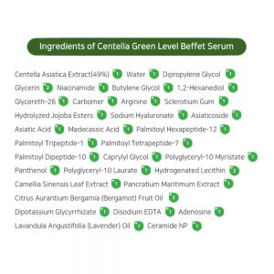 PURITO Centella Green Level Buffet szérum