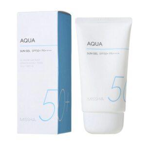 Missha All Around Safe Block Aqua Sun Gel SPF50+/PA+++